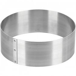 Кольцо кондитерское, нержавейка D=180, H=65мм