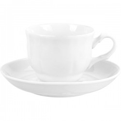 Пара чайная «Кирмаш»; фарфор; 250мл