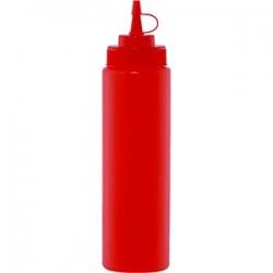 Емкость для соусов; пластик; 0, 69л; D=65, H=240мм; красный