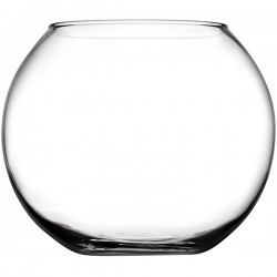 Ваза-шар «Флора»; стекло; 0, 8л; D=80, H=103мм;