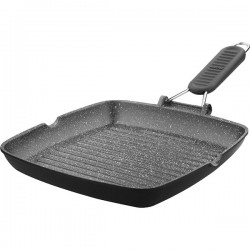 Сковорода-гриль «Granito»; алюминий; H=35, L=260, B=260мм