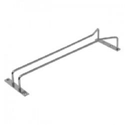 Направ-щая для бокалов; никель; H=45, L=470, B=100мм; серебрян.