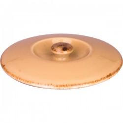 Крышка для бульон. чашки (1120 B828) «Террамеса вит»; фарфор; D=12, 8см; бежев.