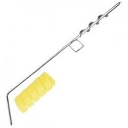 Нож для декоративной нарезки квадр.; нержавеющая сталь, H=10, L=235/65, B=70мм;
