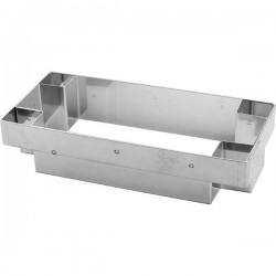 Резак кондитерский, нержавеющая сталь, H=35, L=164, B=78мм