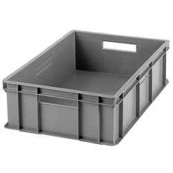 Контейнер для хран. продук.; пластик; 34л; H=17, L=59, 5, B=39, 5см; серый