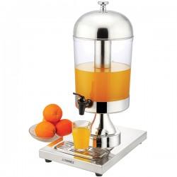 Диспенсер для сока; поликарбонат, сталь; 8л; H=55, L=36, B=26см; ,