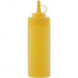 Емкость для соусов; пластик; 0, 69л; D=65, H=255мм; желт.