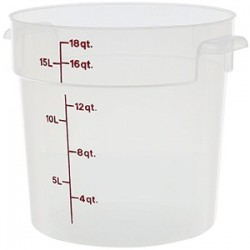 Контейнер для хран. продуктов (крышка арт. RFSC12P; полипроп.; 20л; D=31, H=30, L=36, B=36см;