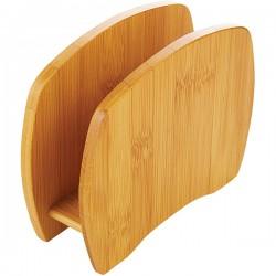 Салфетница; бамбук; H=116, L=150, B=50мм