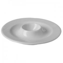 Подставка для яйца «Атлантис»; фарфор; D=14, H=3см; белый