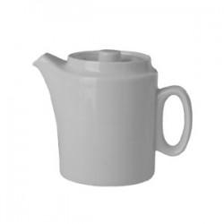 Кофейник с крыш. «Прага»; фарфор; 250мл; D=65, H=110, L=130мм; белый