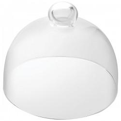Крышка для тортовницы «Сан Марко»; стекло; D=11, H=10см; прозр.