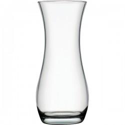 Ваза для цветов «Ботаника»; стекло; D=11, H=24см; прозр.