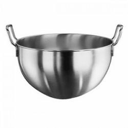 Миска кухонная; сталь нерж.; 9, 5л; D=32, H=22, L=39, B=33, 5см;