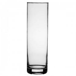 Ваза для цветов «Ботаника»; стекло; D=80, H=265мм; прозр.