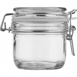 Банка д/сыпуч. продуктов; стекло, силикон; 250мл