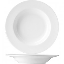 Блюдо д/пасты «Олива»; фарфор; 0, 5л; D=270, H=45мм; белый
