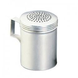 Емкость для соли/перца с ручкой «Проотель»; алюмин.; 200мл; D=7, L=9, B=11см;