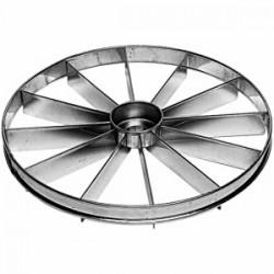 Делитель для торта 12 кусков; нержавеющая сталь, D=330, H=15мм;