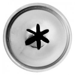 Насадка «Звезда»; нержавеющая сталь, D=22/10, H=30мм;