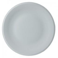 Блюдо д/пиццы «Барилла»; фарфор; D=27, H=2см; белый