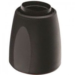 Пробка для розлива вина; пластик; D=43, H=50мм; черный
