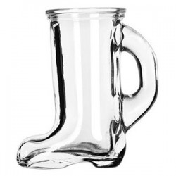 Стопка «Сапог»; стекло; 44мл; H=79мм; прозр.