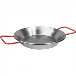 Сковорода для паэльи; голубая сталь; D=200, H=85, L=310, B=205мм; металлич.