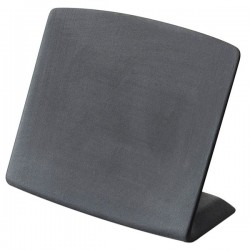 Подставка-ценник настольная « Basalt»; H=60, L=80, B=35мм; черный