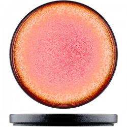 Тарелка «Агат»; фарфор; D=20см; красный