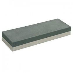 Камень точильный, абразивность 240/1000; H=30, L=215, B=70мм; белый, бежев.