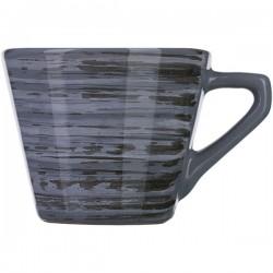 Чашка чайная «Пинки»; керамика; 200мл; серый