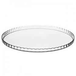 Блюдо «Патиссэри» закал. стекло; D=280, H=16мм; прозр.