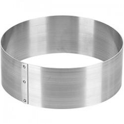 Кольцо конд. «Круг»; нержавеющая сталь, D=200, H=65мм;