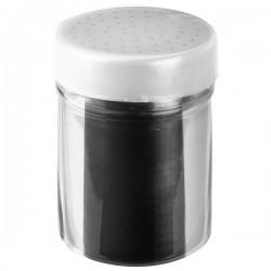 Емкость для соли и перца «Проотель»; сталь нерж.; 240мл; D=60, L=95, B=60мм;