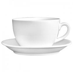 Пара чайная «Кунстверк»; фарфор; 200мл; D=9, H=7, B=15см; белый