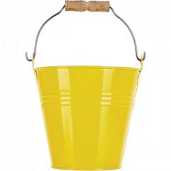Желтое мини-ведерко Prohotel размер D=11см H=10см