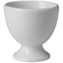 Подставка для яйца «Бистро»; фарфор; D=55, H=55мм; белый