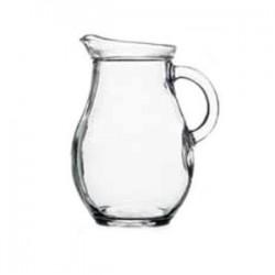 Кувшин «Бистро»; стекло; 250мл; D=80, H=115, L=95мм; прозр.