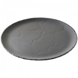 Блюдо для пиццы « Basalt»; D=32см; черный, матовый