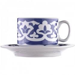 Пара чайная «Экспресс-Восток»; фарфор; 220мл