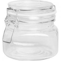 Банка для сыпучих продуктов , стекло; силикон, металл; 0, 56л; прозр.