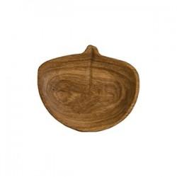 Блюдо «Липа» светлый дуб; H=30, L=185, B=165мм