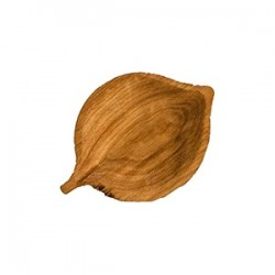 Блюдо «Ольха» светлый дуб; H=30, L=185, B=130мм