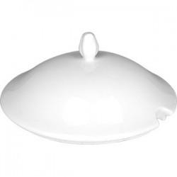 Крышка для супницы «Афродита»; фарфор; белый