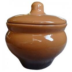 Горшок для запекания «Мечта хозяйки»; керамика; 350мл; D=10, H=11см; коричнев.
