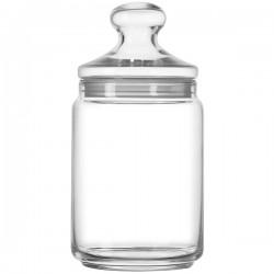 Банка для сыпучих продуктов ; стекло; 2л; D=11, 5, H=24см