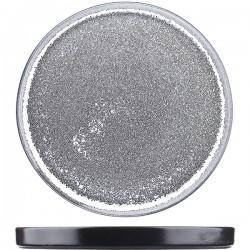 Блюдо «Млечный путь»; фарфор; D=25см; белый, черный