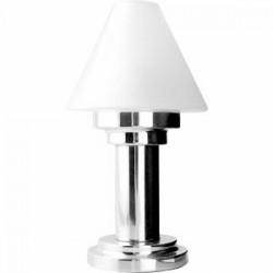 Светильник «Делия»; сталь, стекло; D=12, 4, H=24, 6см; металлич., матовый